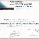 certificado cirugia plastica implante mamario